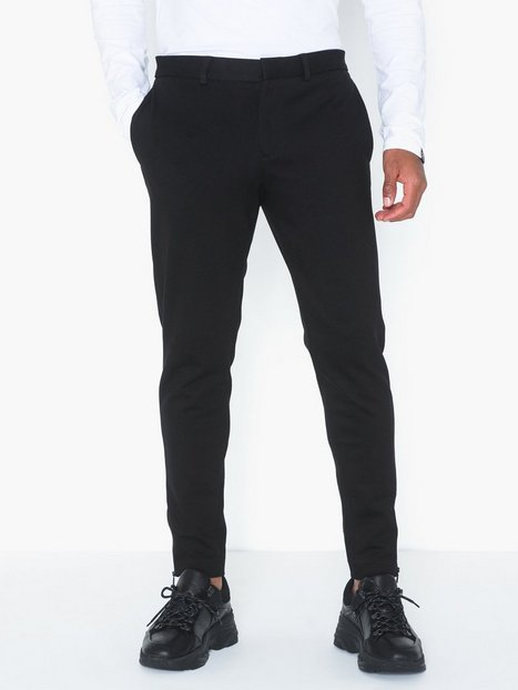 Selected Homme Slhspecial Frome Pants B Bukser Sort - herre
