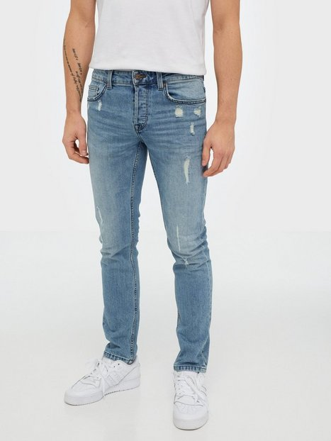 Only & Sons Onsloom Slim Can L Blue Pk 5581 Noo Jeans Blå