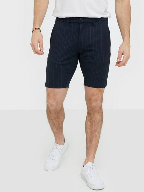 GABBA Jason Chino Pin Shorts Shorts Navy - herre