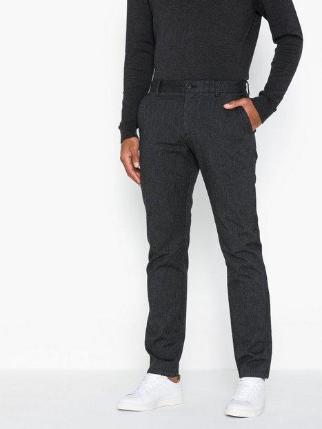 Selected Homme Slhslim Arval Pants W Noos Bukser Grå - herre