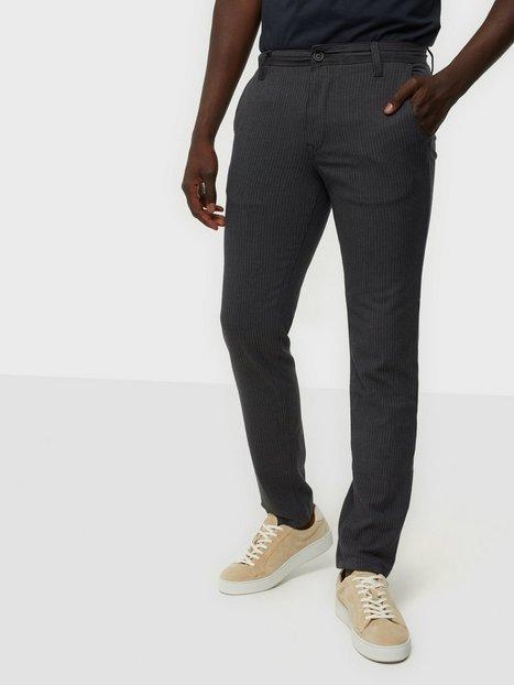 Selected Homme Slhslim-Storm Flex Smart Pants W No Bukser Grey Obsession