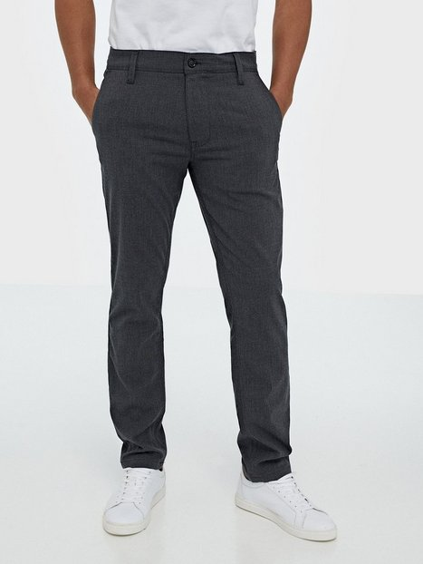 Selected Homme Slhslim Storm Flex Smart Pants W No Bukser Grey - herre