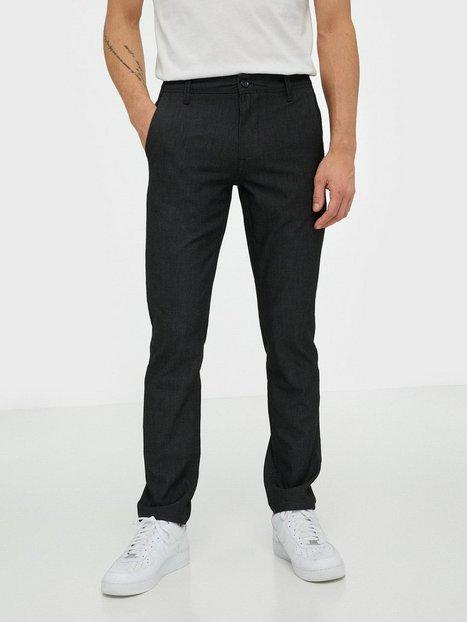 Selected Homme Slhslim Storm Flex Smart Pants W No Bukser Grey Stone - herre