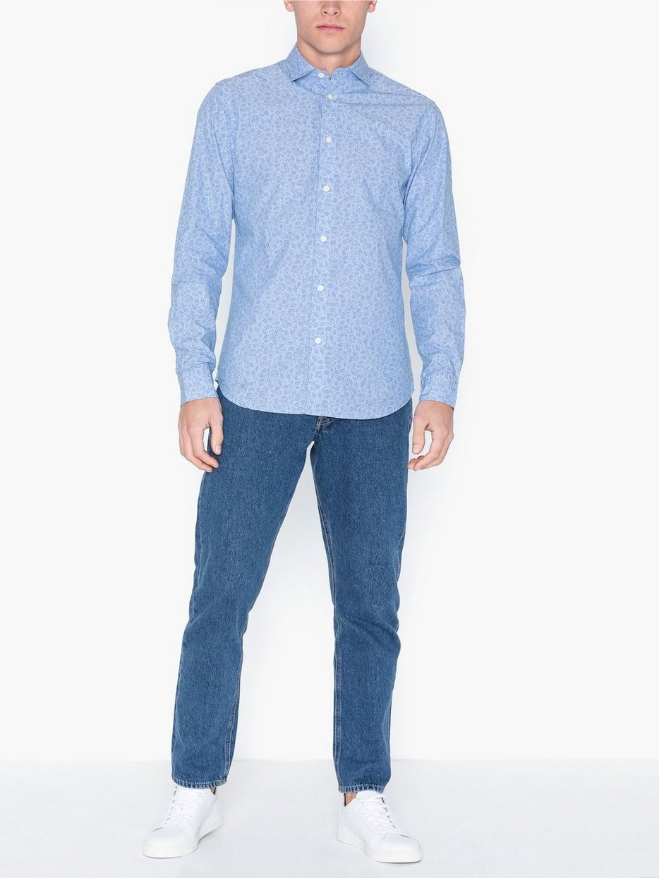 SLHSLIMMARK-WASHED SHIRT LS W NOOS