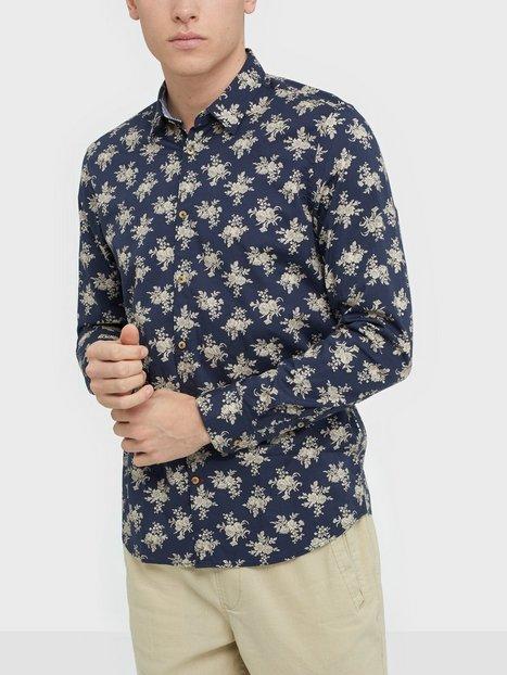 Tailored Originals Shirt Odin Skjorter Insignia Blue mand køb billigt