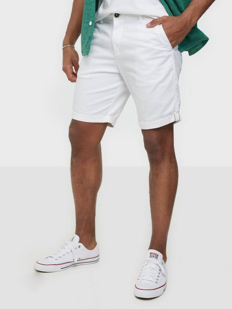 Jack & Jones Jjibowie Jjshorts Solid Sa Sts Shorts White