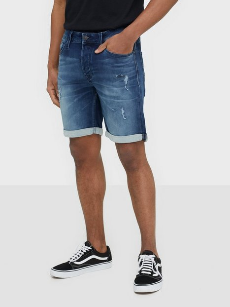 Jack Jones Jjirick Jjicon Shorts Ge 007 I.K St Shorts Blå - herre