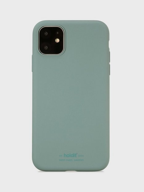 Holdit Silicone Case iPhone 11 Mobilcovere Moss