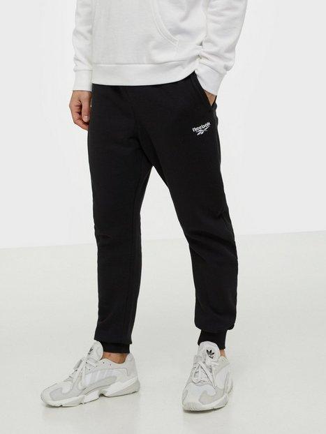 Reebok Classics Cl F Vector Pant Bukser Sort - herre