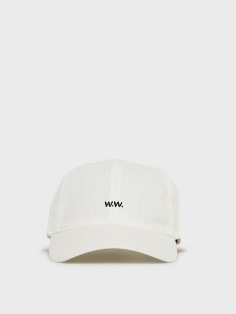 Wood Wood Low profile cap Kasketter Offwhite - herre
