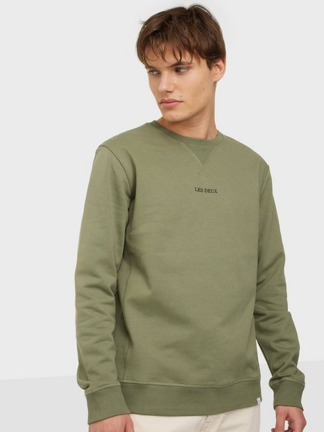 Les Deux Lens Sweatshirt Trøjer Green