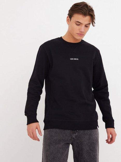 Les Deux Lens Sweatshirt Trøjer Black/White