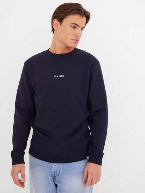 Les Deux Lens Sweatshirt Trøjer navy/white
