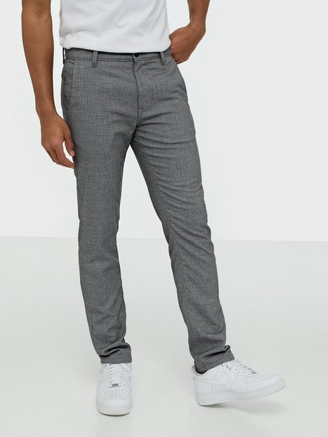 Selected Homme Slhslim Storm Flex Smart Pants W Bukser Grå - herre