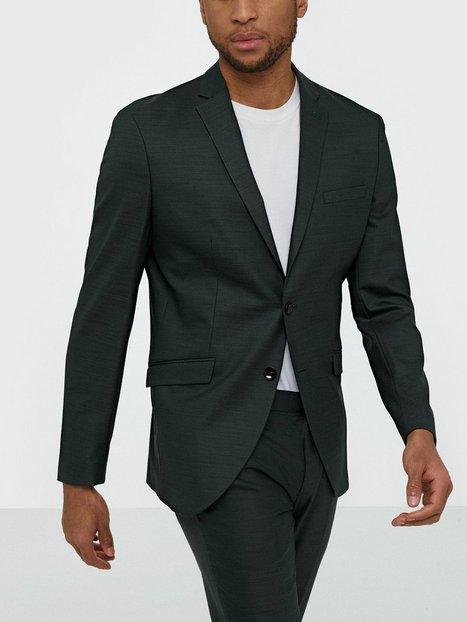 Selected Homme Slhslim Mylostate Green Blz B Noos Blazere jakkesæt Mørkegrøn - herre