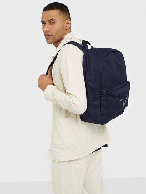 Gant D1. Medium Sheild Backpack Tasker Blue mænd køb billigt