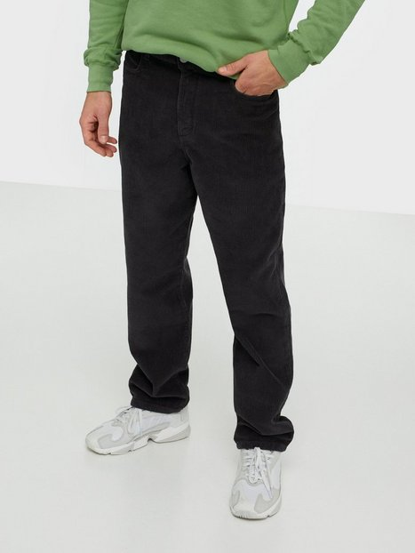 Wood Wood Harold trousers Bukser Dark Green - herre