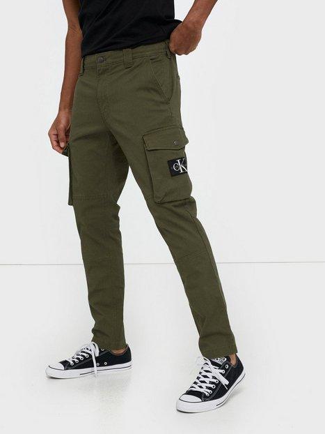 Calvin Klein Jeans Skinny Washed Cargo Pant Bukser Grøn - herre