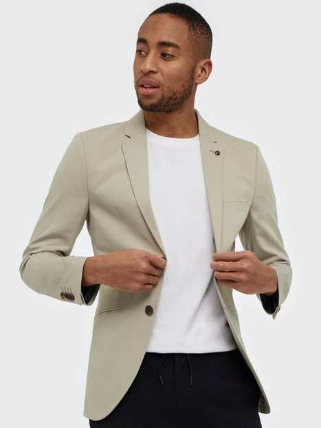 Premium by Jack Jones Jprvincent Blazer Noos Blazere jakkesæt Lysebrun - herre