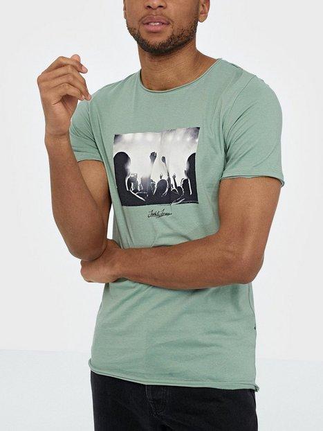 Jack Jones Jorpanax Tee Ss Crew Neck Slim Fit T shirts undertrøjer Grøn - herre