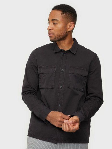 Dr Denim Cade Shirt Skjorter Washed Black