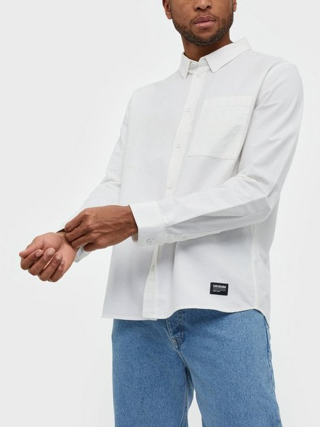 Dr Denim Dale Shirt Skjorter White