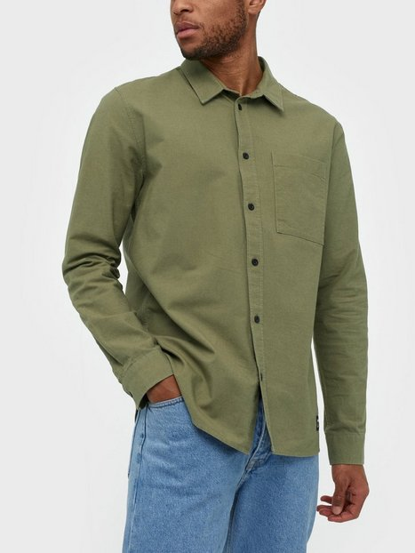Dr Denim Dale Shirt Skjorter Emerald