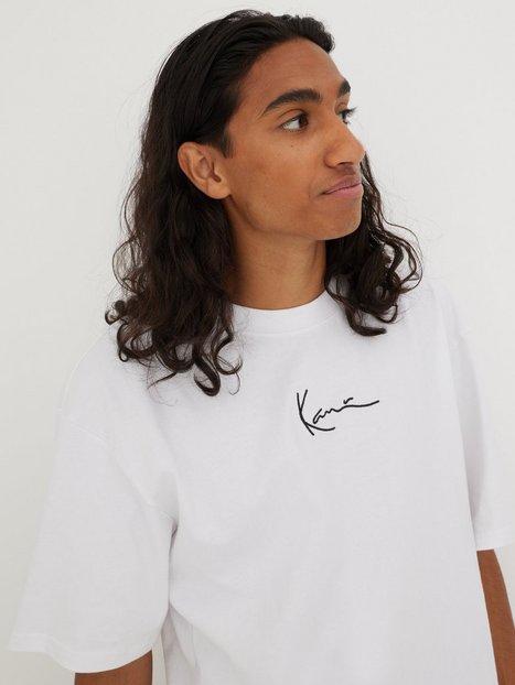 Karl Kani KK Signature Tee T-shirts & undertrøjer Hvid/Rød
