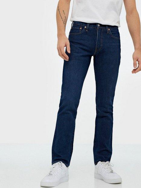 Levis 511 Slim Orange Sunset Adapt Jeans Blå - herre