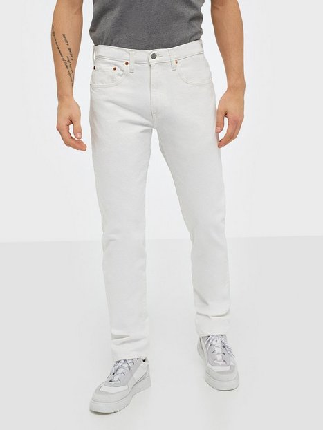 Levis 502 Taper Toothy White Jeans Neutral - herre
