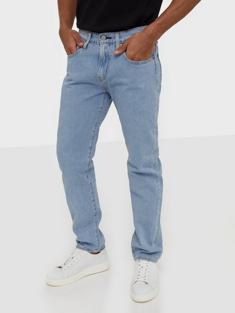 Levis 502 Taper Orlando Stones Ltwt Jeans Indigo - herre
