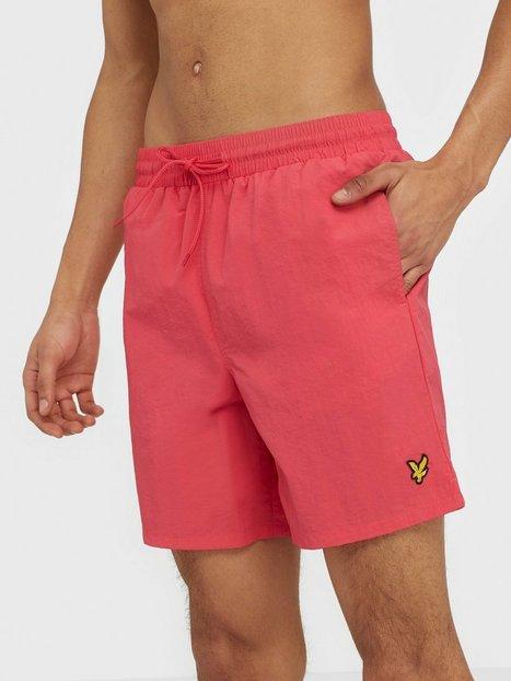 Lyle Scott Plain Swim Short Badetøj Geranium - herre