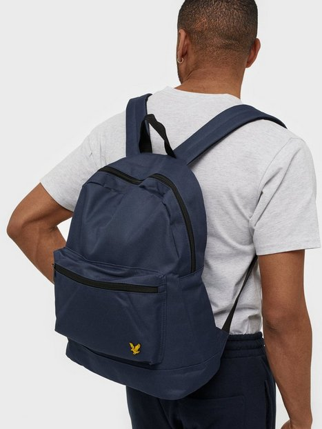 Lyle Scott Backpack Tasker Navy - herre