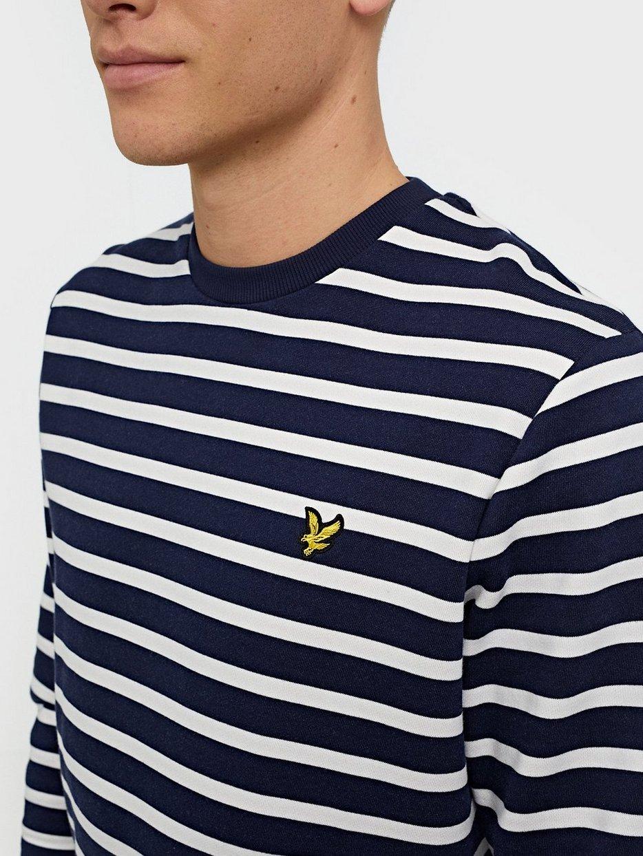 Breton Stripe Sweatshirt
