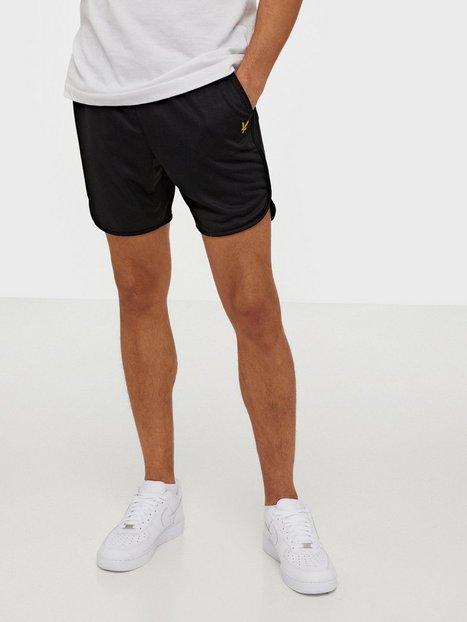 Lyle Scott Football Shorts Shorts Jet Black - herre