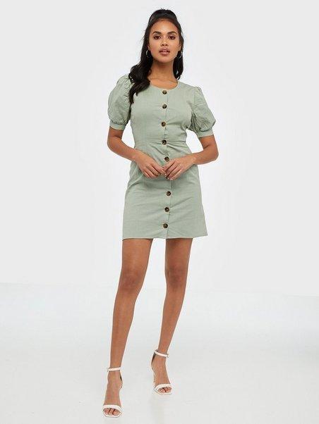 A Little Something Dress Vaaleanvihreä