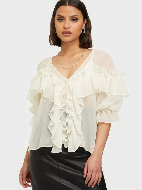 NLY Trend Just Butterflies Blouse Festbluser