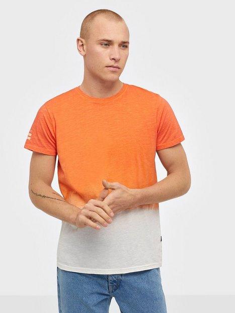 Solid Janus SS T shirt T shirts undertrøjer Flame - herre