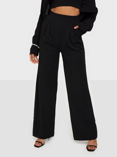 NLY One Pocket Wide Pant Bukser Sort