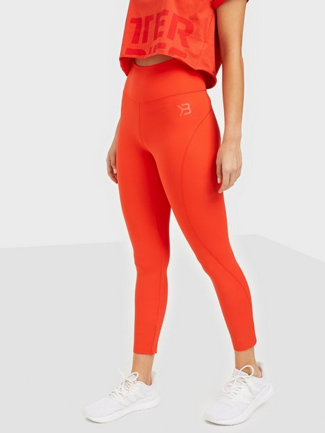 Better Bodies High waist leggings Träningstights Red
