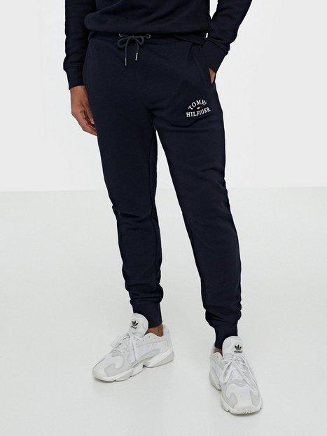 Tommy Hilfiger Basic Embroidered Sweatpants Bukser Desert mand køb billigt