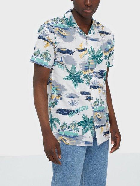 Tommy Hilfiger Hawaiian Print Shirt S/S Skjorter Multi
