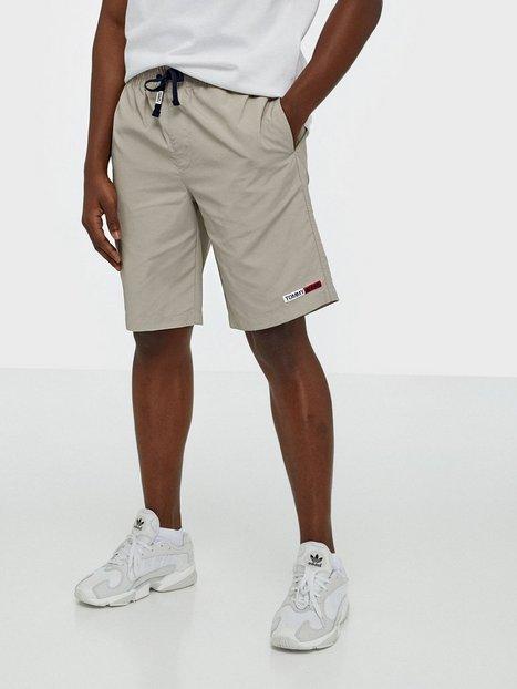 Tommy Jeans Tjm Nylon Basketball Short Shorts Stone - herre