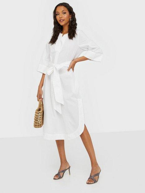 Selected Femme Slfcarlotta 3/4 Midi Kaftan Dress B Loose fit dresses