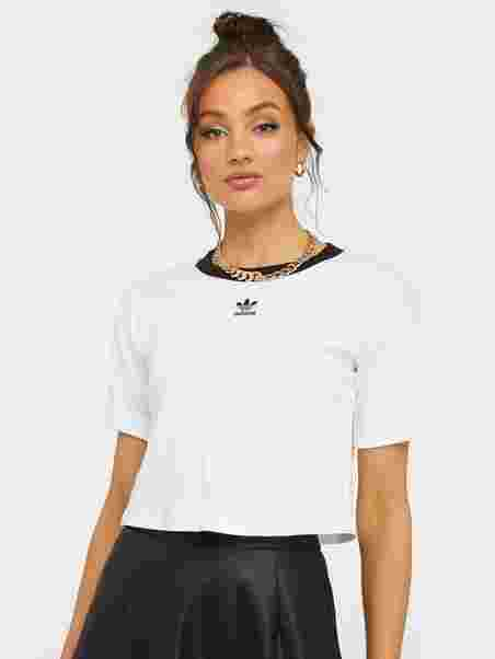 Adidas Originals Crop Top whiteblack ab € 19,95