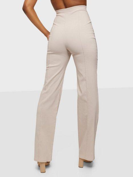 NLY One Straight High Waist Pant Bukser