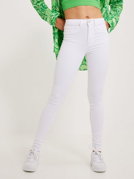 Only Onlroyal Hw Sk Jeans White Noos Skinny fit