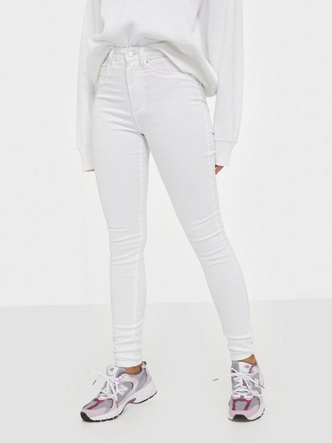 Only Onlroyal Hw Sk Jeans White Noos