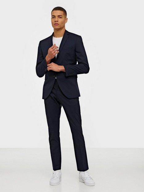 Selected Homme Slhslim Mylologan Navy Blazere jakkesæt - herre