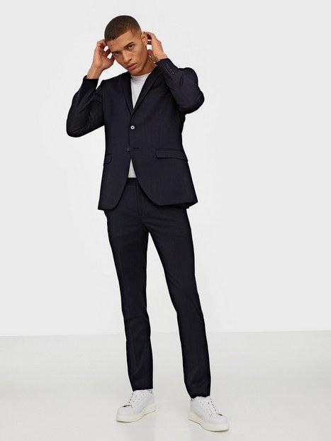 Selected Homme Slhslim Mylobill Navy Blazere jakkesæt - herre